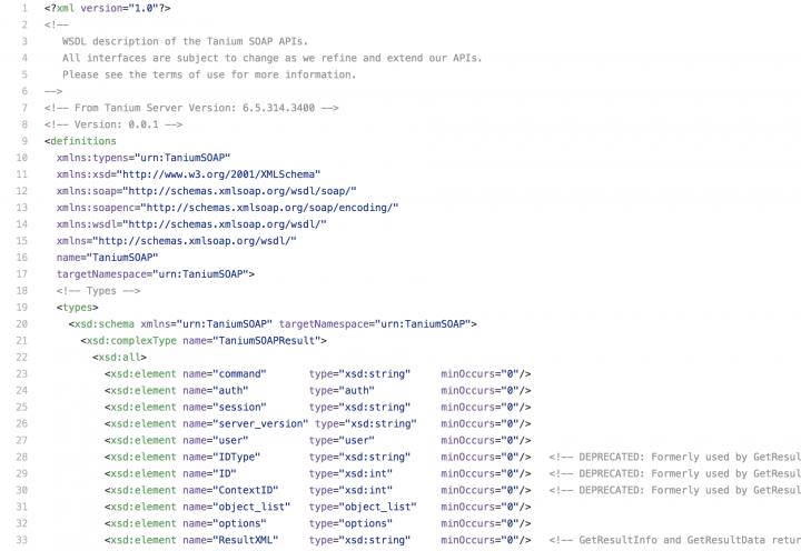 Integrations Through the Tanium Server API