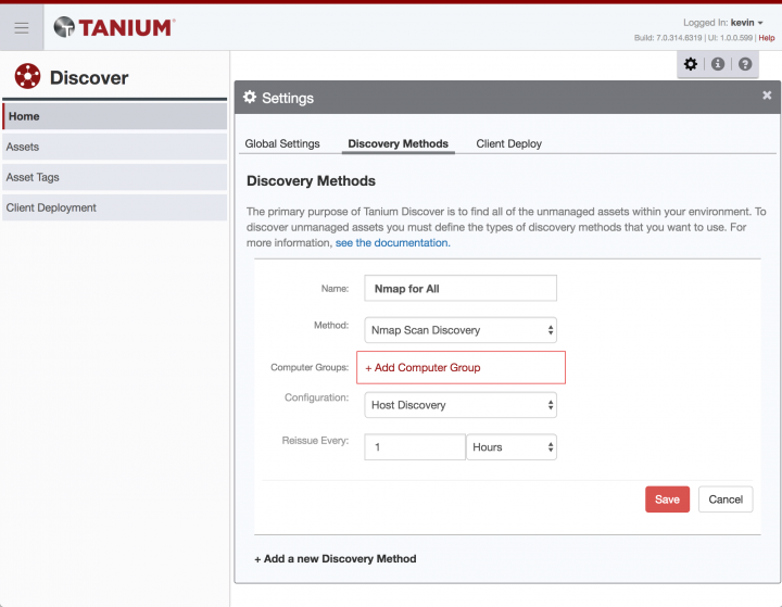 How to Enable OS Fingerprinting in Tanium Discover